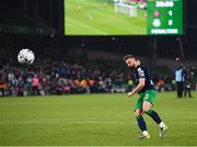3 November 2019; Greg Bolger of Shamrock Rovers scores a penalty during the extra.ie FAI Cup Final between Dundalk and Shamrock Rovers at the Aviva Stadium in Dublin. Photo by Stephen McCarthy/Sportsfile