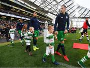 3 November 2019; Sean Kavanagh of Shamrock Rovers during the extra.ie FAI Cup Final between Dundalk and Shamrock Rovers at the Aviva Stadium in Dublin. Photo by Stephen McCarthy/Sportsfile