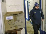 "3 February 2019; Mickey Graham's brief is simple – the new Cavan manager is expected to deliver trophies and cups. Not plastic cups, but silverware. Graham is juggling the Cavan post with the Mullinalachta St Columba's job across the border in Longford, whom he guided to a Leinster club final triumph over Kilmacud Crokes in December 2018 - the fairytale ending to that season. Photo by Stephen McCarthy/Sportsfile. This image may be reproduced free of charge when used in conjunction with a review of the book ""A Season of Sundays 2019"". All other usage © SPORTSFILE"