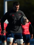 12 November 2019; Peter O'Mahony during a Munster Rugby squad training session at University of Limerick in Limerick. Photo by Brendan Moran/Sportsfile