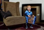 12 November 2019; In attendance at the Launch of A Season of Sundays 2019 at Croke Park in Dublin, is Sportsfile's Ray McManus' grandson, Rian Cuddihy, aged 2, from Harold's Cross, Dublin. Photo by Sam Barnes/Sportsfile