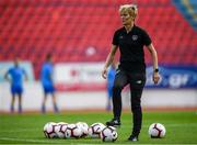 12 November 2019; Republic of Ireland manager Vera Pauw prior to the UEFA Women's 2021 European Championships Qualifier - Group I match between Greece and Republic of Ireland at Nea Smyrni Stadium in Athens, Greece. Photo by Harry Murphy/Sportsfile