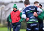 13 November 2019; Head coach Andy Friend during a Connacht Rugby squad training session at The Sportsground in Galway. Photo by Brendan Moran/Sportsfile