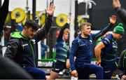 13 November 2019; Jack Carty, right, during a Connacht Rugby squad training session at The Sportsground in Galway. Photo by Brendan Moran/Sportsfile