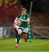 10 November 2019; Lauren Delany of Ireland during the Women's Rugby International match between Ireland and Wales at the UCD Bowl in Dublin. Photo by David Fitzgerald/Sportsfile