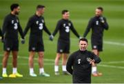 13 November 2019; Assistant coach Robbie Keane during a Republic of Ireland training session at the FAI National Training Centre in Abbotstown, Dublin. Photo by Stephen McCarthy/Sportsfile