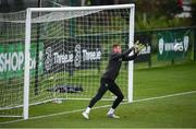 13 November 2019; Mark Travers during a Republic of Ireland training session at the FAI National Training Centre in Abbotstown, Dublin. Photo by Stephen McCarthy/Sportsfile