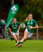 10 November 2019; Eimear Considine, right, and Kathryn Dane of Ireland during the Women's Rugby International match between Ireland and Wales at the UCD Bowl in Dublin. Photo by David Fitzgerald/Sportsfile