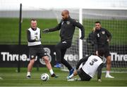 13 November 2019; David McGoldrick during a Republic of Ireland training session at the FAI National Training Centre in Abbotstown, Dublin. Photo by Stephen McCarthy/Sportsfile