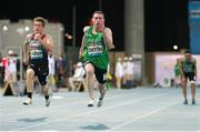 13 November 2019; Team Ireland's Jason Smyth, from Derry, on his way to winning the T13 100m Final during day seven of the World Para Athletics Championships 2019 at Dubai Club for People of Determination Stadium in Dubai, United Arab Emirates. Photo by Ben Booth/Sportsfile