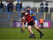 10 November 2019; Tim O'Sullivan of Ballygunner in action against Mark Carmody of Patrickswell during the AIB Munster GAA Hurling Senior Club Championship Semi-Final match between Patrickswell and Ballygunner at Walsh Park in Waterford. Photo by Seb Daly/Sportsfile