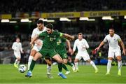 14 November 2019; Robbie Brady of Republic of Ireland in action against Michael Boxall of New Zealand during the International Friendly match between Republic of Ireland and New Zealand at the Aviva Stadium in Dublin. Photo by Seb Daly/Sportsfile