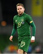 14 November 2019; Alan Judge of Republic of Ireland during the International Friendly match between Republic of Ireland and New Zealand at the Aviva Stadium in Dublin. Photo by Seb Daly/Sportsfile