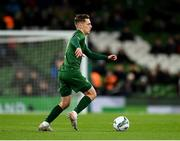 14 November 2019; Lee O'Connor of Republic of Ireland during the International Friendly match between Republic of Ireland and New Zealand at the Aviva Stadium in Dublin. Photo by Seb Daly/Sportsfile
