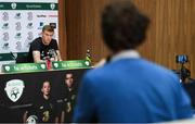 12 November 2019; James McClean during a Republic of Ireland press conference at the FAI National Training Centre in Abbotstown, Dublin. Photo by Stephen McCarthy/Sportsfile
