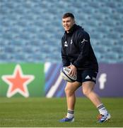 15 November 2019; Luke McGrath during the Leinster Rugby captain's run at the RDS Arena in Dublin. Photo by Ramsey Cardy/Sportsfile