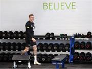 15 November 2019; James McClean during a Republic of Ireland gym session at the Sport Ireland Institute in Abbotstown, Dublin. Photo by Stephen McCarthy/Sportsfile