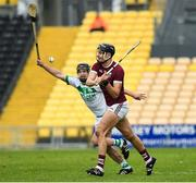16 November 2019; Jack O'Connor of St Martin's in action against Ronan Corcoran of Ballyhale Shamrocks during the AIB Leinster GAA Hurling Senior Club Championship semi-final match between Ballyhale Shamrocks and St Martin's at Nowlan Park in Kilkenny. Photo by Matt Browne/Sportsfile