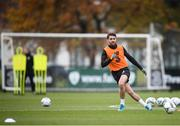 16 November 2019; Robbie Brady during a Republic of Ireland training session at the FAI National Training Centre in Abbotstown, Dublin. Photo by Stephen McCarthy/Sportsfile