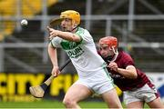 16 November 2019; Eoin Reid of Ballyhale Shamrocks in action against Eoin O'Leary of St Martin's during the AIB Leinster GAA Hurling Senior Club Championship semi-final match between Ballyhale Shamrocks and St Martin's at Nowlan Park in Kilkenny. Photo by Matt Browne/Sportsfile