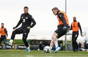 16 November 2019; James McClean during a Republic of Ireland training session at the FAI National Training Centre in Abbotstown, Dublin. Photo by Stephen McCarthy/Sportsfile