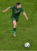 14 November 2019; Josh Cullen of Republic of Ireland during the International Friendly match between Republic of Ireland and New Zealand at the Aviva Stadium in Dublin. Photo by Ben McShane/Sportsfile