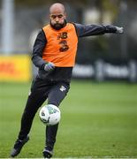 16 November 2019; David McGoldrick during a Republic of Ireland training session at the FAI National Training Centre in Abbotstown, Dublin. Photo by Stephen McCarthy/Sportsfile
