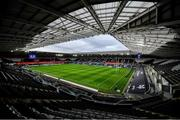 16 November 2019; A general view of the pitch and stadium prior to the Heineken Champions Cup Pool 4 Round 1 match between Ospreys and Munster at Liberty Stadium in Swansea, Wales. Photo by Seb Daly/Sportsfile