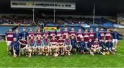 3 November 2019; The Borris-Ileigh squad before the Tipperary County Senior Club Hurling Championship Final match between  Borris-Ileigh and Kiladangan at Semple Stadium in Thurles, Tipperary. Photo by Ray McManus/Sportsfile