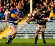 3 November 2019; Sean Hayes of Kiladangan in action against Paddy Stapleton of Borris-Ileigh during the Tipperary County Senior Club Hurling Championship Final match between Borris-Ileigh and Kiladangan at Semple Stadium in Thurles, Tipperary. Photo by Ray McManus/Sportsfile