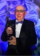 16 November 2019; Seamus McGoldrick, who received the award on behalf of his daughter Sinead Goldrick of Dublin, during the TG4 All-Ireland Ladies Football All Stars Awards banquet, in association with Lidl, at the Citywest Hotel in Saggart, Dublin. Photo by Brendan Moran/Sportsfile