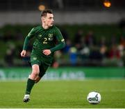14 November 2019; Lee O'Connor of Republic of Ireland during the International Friendly match between Republic of Ireland and New Zealand at the Aviva Stadium in Dublin. Photo by Stephen McCarthy/Sportsfile