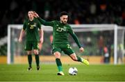 14 November 2019; Derrick Williams of Republic of Ireland during the International Friendly match between Republic of Ireland and New Zealand at the Aviva Stadium in Dublin. Photo by Stephen McCarthy/Sportsfile
