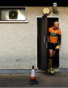 17 November 2019; Kieran Donaghy of Austin Stacks makes his way out to the pitch prior to the AIB Munster GAA Football Senior Club Championship semi-final match between Nemo Rangers and Austin Stacks at Páirc Ui Rinn in Cork. Photo by Eóin Noonan/Sportsfile