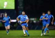 16 November 2019; Dave Kearney, left, and Ross Byrne of Leinster during the Heineken Champions Cup Pool 1 Round 1 match between Leinster and Benetton at the RDS Arena in Dublin. Photo by Ramsey Cardy/Sportsfile