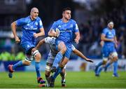 16 November 2019; Rónan Kelleher of Leinster is tackled by Dean Budd of Benetton during the Heineken Champions Cup Pool 1 Round 1 match between Leinster and Benetton at the RDS Arena in Dublin. Photo by Ramsey Cardy/Sportsfile