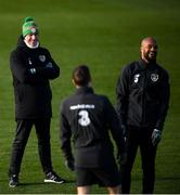 17 November 2019; Republic of Ireland manager Mick McCarthy during a Republic of Ireland training session at the FAI National Training Centre in Abbotstown, Dublin. Photo by Stephen McCarthy/Sportsfile