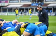 16 November 2019; Leinster scrum coach Robin McBryde ahead of the Heineken Champions Cup Pool 1 Round 1 match between Leinster and Benetton at the RDS Arena in Dublin. Photo by Ramsey Cardy/Sportsfile