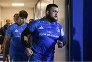 16 November 2019; Andrew Porter of Leinster ahead of the Heineken Champions Cup Pool 1 Round 1 match between Leinster and Benetton at the RDS Arena in Dublin. Photo by Ramsey Cardy/Sportsfile