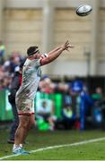 16 November 2019; Rob Herring of Ulster throws a line out during the Heineken Champions Cup Pool 3 Round 1 match between Bath and Ulster at The Recreation Ground in Bath, England. Photo by John Dickson/Sportsfile