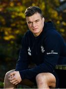 18 November 2019; Josh van der Flier poses for a portrait after a Leinster Rugby press conference at Leinster Rugby HQ in UCD in Dublin. Photo by Brendan Moran/Sportsfile
