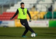 18 November 2019; Danny Mandroiu during a Republic of Ireland U21's squad training session at Tallaght Stadium in Dublin. Photo by Harry Murphy/Sportsfile