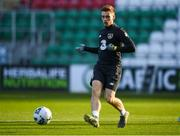18 November 2019; Connor Ronan during a Republic of Ireland U21's squad training session at Tallaght Stadium in Dublin. Photo by Harry Murphy/Sportsfile