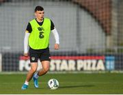 18 November 2019; Simon Power during a Republic of Ireland U21's squad training session at Tallaght Stadium in Dublin. Photo by Harry Murphy/Sportsfile