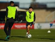 18 November 2019; Jayson Molumby during a Republic of Ireland U21's squad training session at Tallaght Stadium in Dublin. Photo by Harry Murphy/Sportsfile
