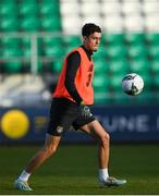 18 November 2019; Corey O'Keefe during a Republic of Ireland U21's squad training session at Tallaght Stadium in Dublin. Photo by Harry Murphy/Sportsfile