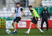 18 November 2019; Aidan Keena during a Republic of Ireland U21's squad training session at Tallaght Stadium in Dublin. Photo by Harry Murphy/Sportsfile
