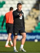 18 November 2019; Anthony Scully during a Republic of Ireland U21's squad training session at Tallaght Stadium in Dublin. Photo by Harry Murphy/Sportsfile