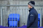 18 November 2019; Jonathan Sexton looks on during Leinster Rugby squad training at Energia Park in Donnybrook, Dublin. Photo by Brendan Moran/Sportsfile