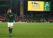 18 November 2019; James McClean of Republic of Ireland after the UEFA EURO2020 Qualifier match between Republic of Ireland and Denmark at the Aviva Stadium in Dublin. Photo by Stephen McCarthy/Sportsfile